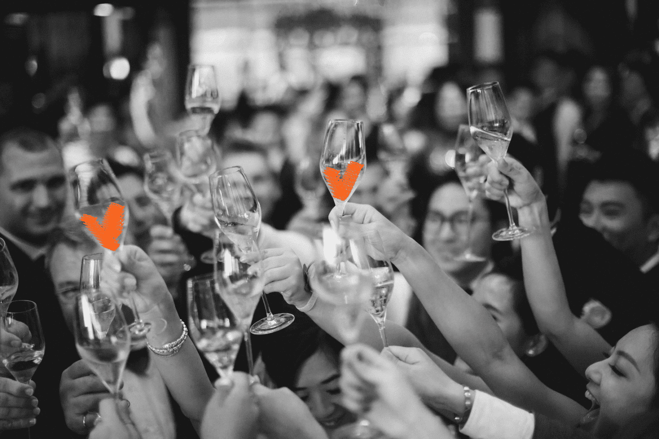 Going alcohol free at weddings –what to toast the bride and groom with?