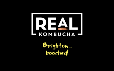 Now serving: Real Kombucha in Brighton