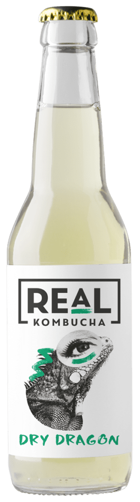 Real Kombucha Dry Dragon Made from Dragonwell Green Tea