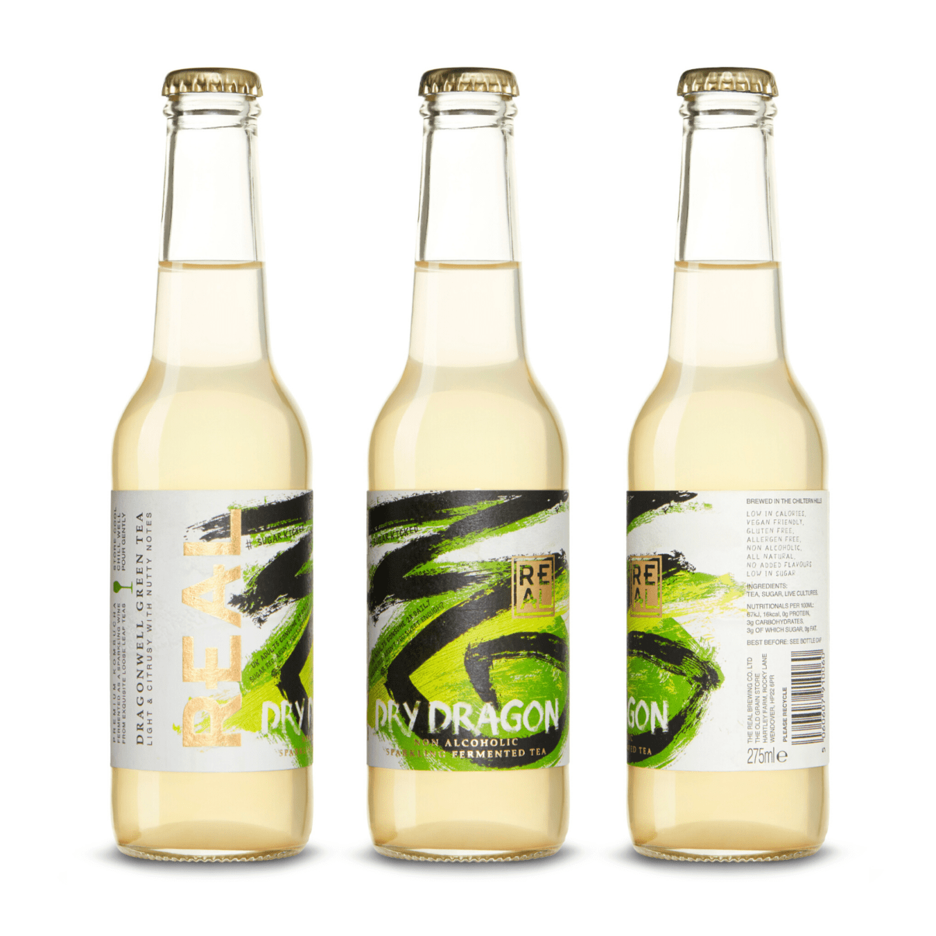 Dry Dragon REAL Kombucha 275ml